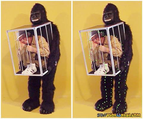 disfraz original 2 cazador y presa disfraz gracioso y original de un